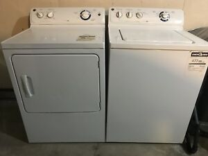 GE 'General Electric' Top load Washer and Dryer for sale