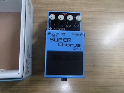 Boss Super Chorus Guitar Pedal In Box