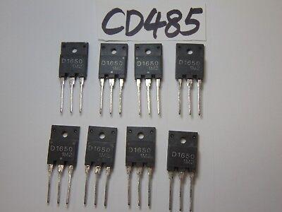 8 Vintage New Transistor Lot Electronics D1650 1650