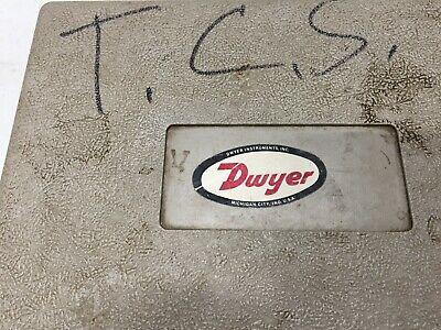 Dwyer Tool Slack Tube Manometer