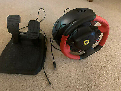 Thrustmaster Ferrari 458 Spider Xbox One Racing Wheel and Pedals Set