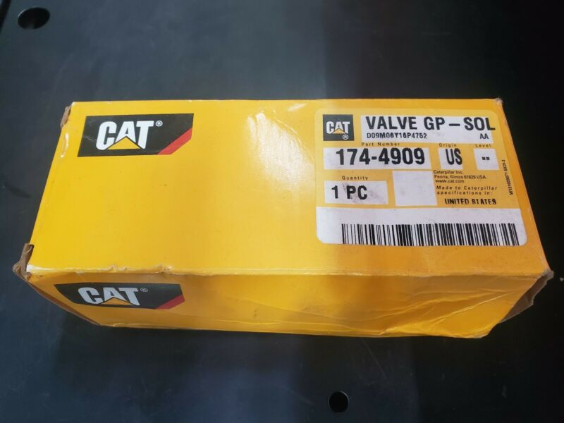 1744909 VALVE GROUP-SOLENOID CAT Caterpillar OEM