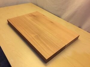 2' long African Mahogany guitar body blank