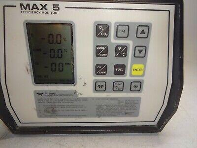 Teledyne Max 5 Combustion Efficiency Analyzer Monitor