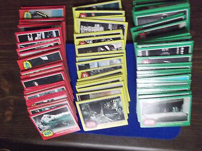 Star Wars TOPPS Series 1-4 card 1977 You Pick! Lot of 5 Slight Wear Choose 5