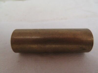 """NEW NO NAME BRASS BRONZE KEYED ON ONE END BUSHING 1/2"""" ID 11/16"""" OD 2"""" WIDTH"""