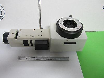 Microscope Leitz Germany Lamp Vertical Illuminator 1.0x Optics As Is Binp3-05