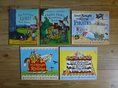 Bundle of 5 books Knight Pirates Smartest Giant In Town for boys and girls