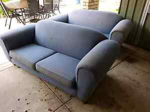 Two blue couches free Melville Melville Area Preview