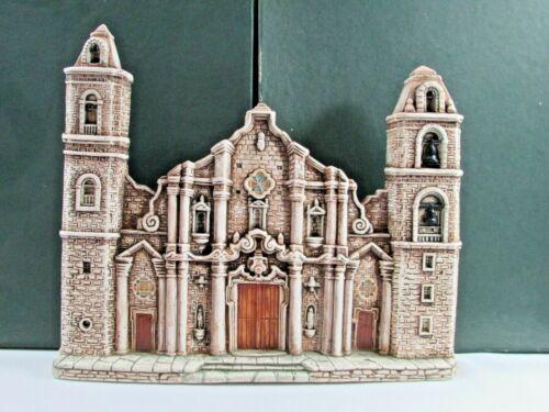 GUILLON Vintage Ceramic Plaque Coleccion CUBA  Catedral De La Habana Hand Made