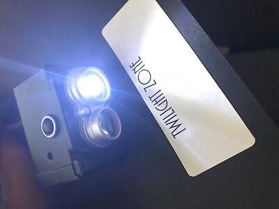 The Twilight Zone TZ Pinball Machine Camera LED Mod Bally