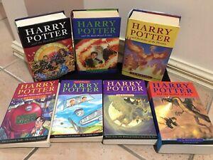 Harry Potter Original Cover Set plus extra books