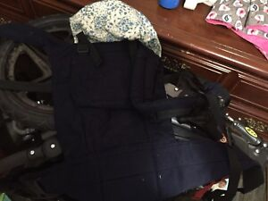New baby stuff (carrier, canopy, etc)