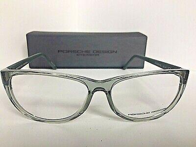 New PORSCHE DESIGN P8246 P 8246 B 56mm Clear Cats Eye Eyeglasses Frame (Porsche Eye Frames)