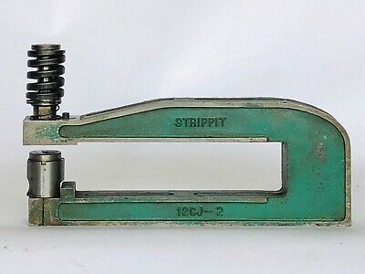 Strippit 12cj-2 Punch Press C-frame Die Set Shoe 12 Throat 2 Wide