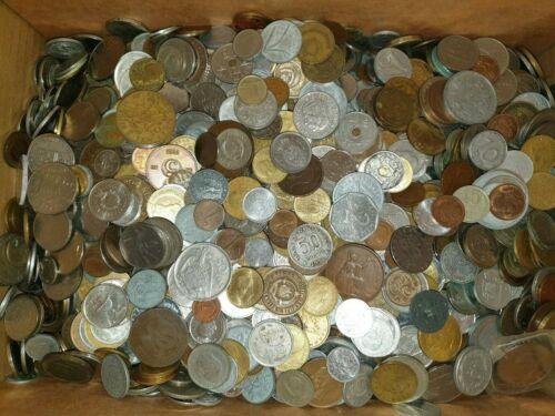 1/2 kg Münzen Welt mit antiken Münzen Rom 500g Gramm Konvolut Lot Sammlung