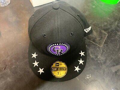Colorado Rockies Hat (New Era MLB Colorado Rockies Flat Bill Baseball Hat (7 1/4),)