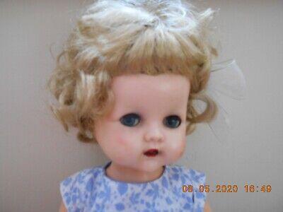 Vintage 1950s Pedigree 16 in Hard Plastic Walker Doll  FAB