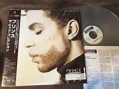 PRINCE The Hits Collection JAPAN Laser Disc LD WPLP-9115 w/OBI+PROMO STICKER