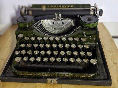 Antique Typewriter By Underwood Standard 1927