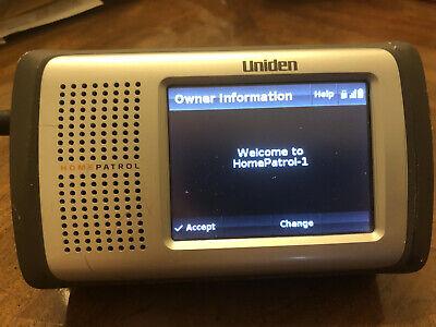 Uniden HomePatrol Home Patrol Digital Touchscreen Police Scanner