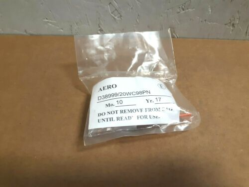 *NEW* AERO D38999 20WC98PN Connector Kit   J268