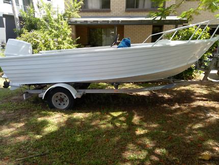 5 metre Centre Console Aluminium Boat