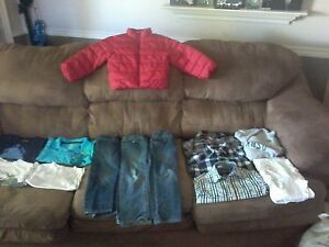 Bag of boy's sz.4-5 brand name clothes $15.00