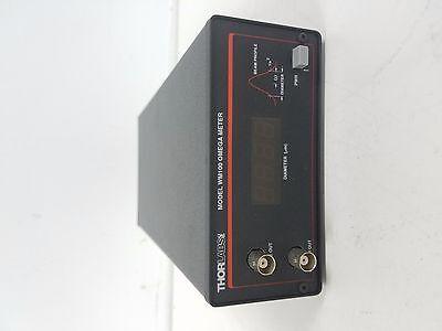 Thorlabs Wm100 Omega Meter Laser Beam Profilerbeam Waist Analyzer