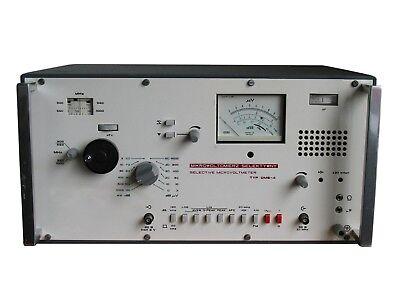 0-3 Mv 0-10 Mv 300-1000 Mhz Micro Voltmeter Dms-4 An-g Hp Agilent Fluke