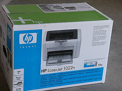 Brand New HP LaserJet 1022n Monochrome Network Laser Printer Better Than (Best Hp Laserjet Printer)