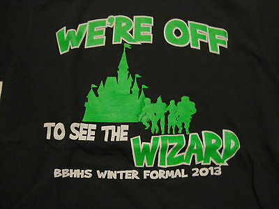 WIZARD OF OZ Theme HIGH SCHOOL Winter Formal DANCE T-Shirt FREE Shipping - High School Dance Themes