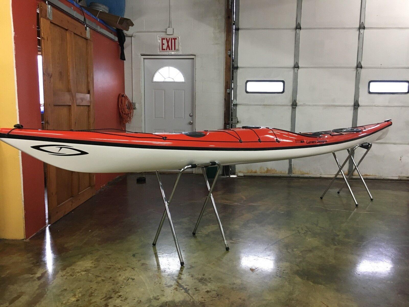 prana fiberglass touring kayak new