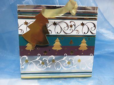 Kleine Geschenktasche - Weihnachten * Tannen  ()