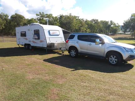 Newlands 21ft. Caravan & Isuzu MU-X Dundowran Fraser Coast Preview