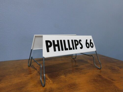 Vintage Phillips 66 Metal Gas Station Tire Stand Sign Great Condition