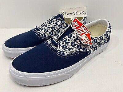 Vans Era OTW Off The Wall Checkerboard Dress Blues Blue Men's Size 12