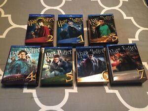 Harry Potter Ultimate Editions (Blu-Ray)