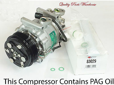 2007 2008 Honda Fit All Models Remanufactured Compressor Kit wWarranty