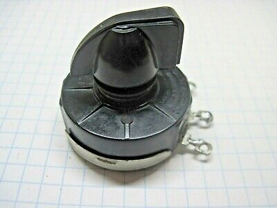 Precision Apparatus 912 920 954 Tube Tester D Control Potentiometer 300ohm Knob
