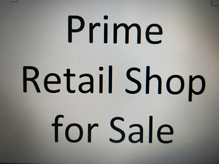 Prime Retail Shop for sale in Hunter Connection