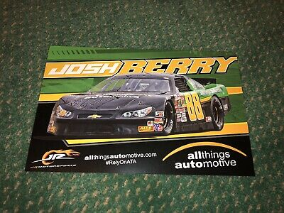 2018 JOSH BERRY ALL THINGS AUTOMOTIVE JR MOTORSPORTS #88 NASCAR (Things Berry)