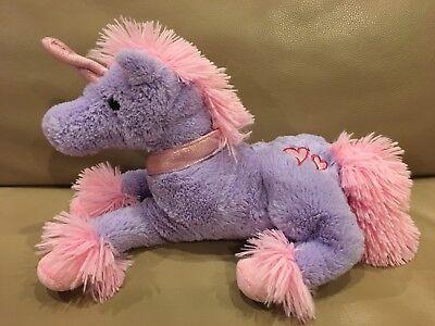 Inter-American Squishmallows Pink Unicorn Horse With Hearts Stuffed Plush Animal