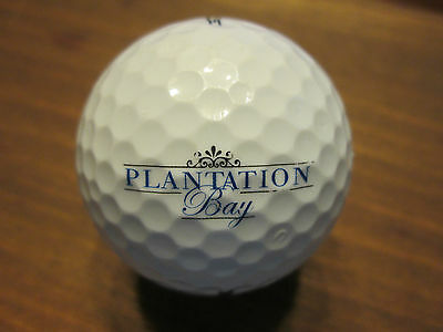 LOGO GOLF BALL-PLANTATION BAY GOLF & COUNTRY CLUB....FLORIDA.. Plantation Golf Country Club