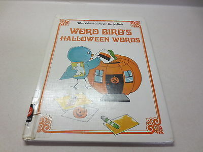 Word Bird's Halloween Words by Jane Belk Moncure (1987, Hardcover)](English Halloween Words)