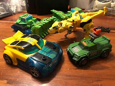 Lot of 5 Transformers Rescue Bots Bumblebee b2