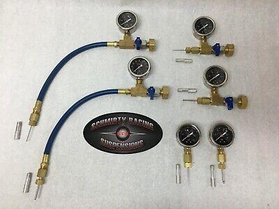 Geothermal Loop Fill Tool Pressure Test Gauge PETE PORT Needle Probe Hose Tool (Hose Pressure Test)