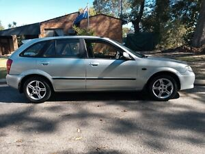 2003 Mazda 323. Licensed. Gearbox issue