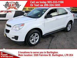 2015 Chevrolet Equinox LS, Automatic, Steering Wheel Controls
