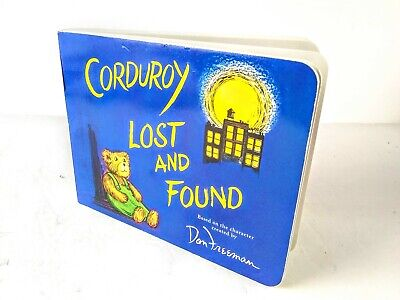 Corduroy Lost and Found Board Book By Don Freeman Children Fiction BG Hennessy